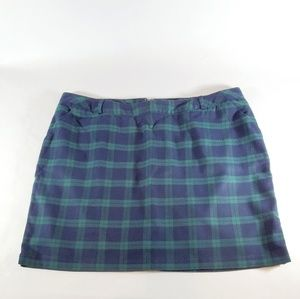 Cute Tartan Mini Skirt